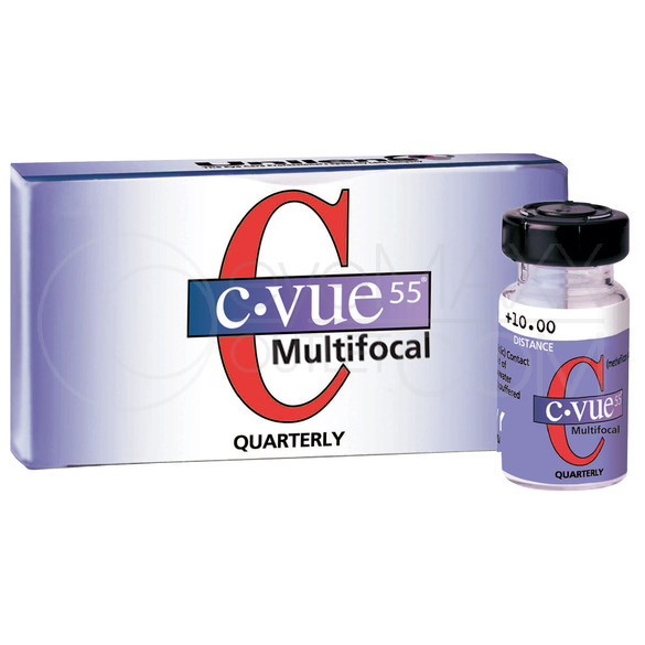 Unilens C-VUE 55 MULTIFOCAL Quarterly Contact Lenses